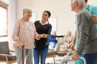 老健(介護老人保健施設)の雰囲気