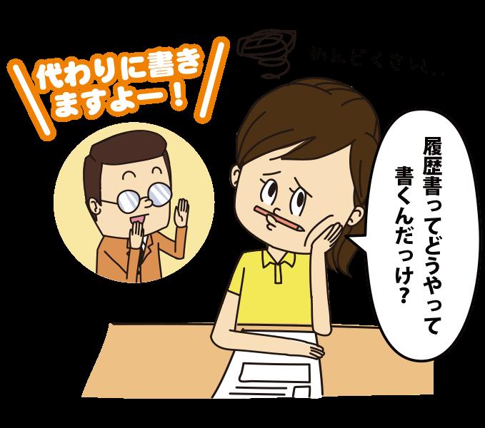【求人サイトのメリット③】転職活動の『面倒くさい…』が解消される