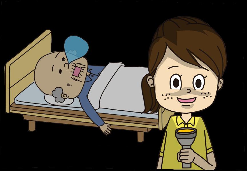介護職 夜勤専従イメージ